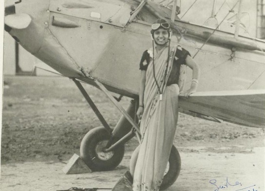 Fascinating Historical Picture of Sarla Thakral in 1936